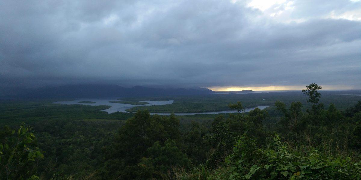 convective clouds, QLD, AU